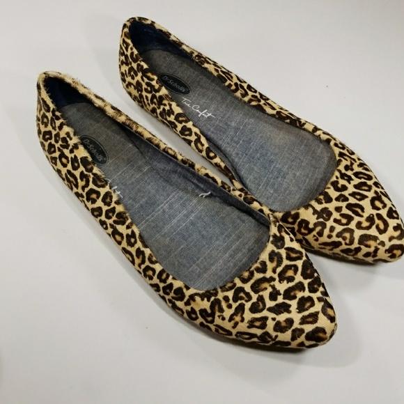 leopard print flats comfortable